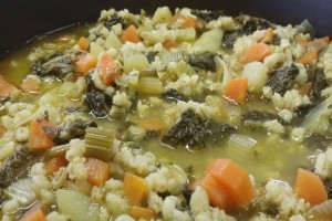 zuppa di borragine